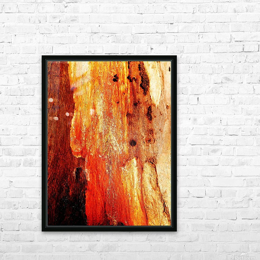 Murray Gum Tree Bark 2 HD Sublimation Metal print with Decorating Float Frame (BOX)