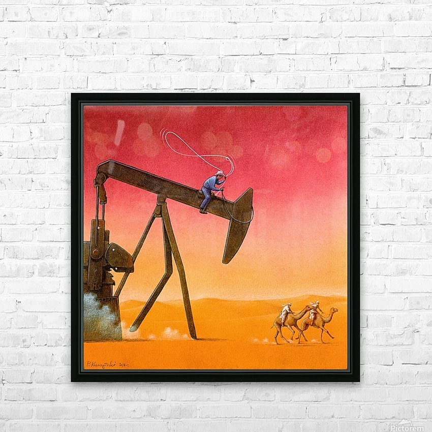 PawelKuczynski51 HD Sublimation Metal print with Decorating Float Frame (BOX)