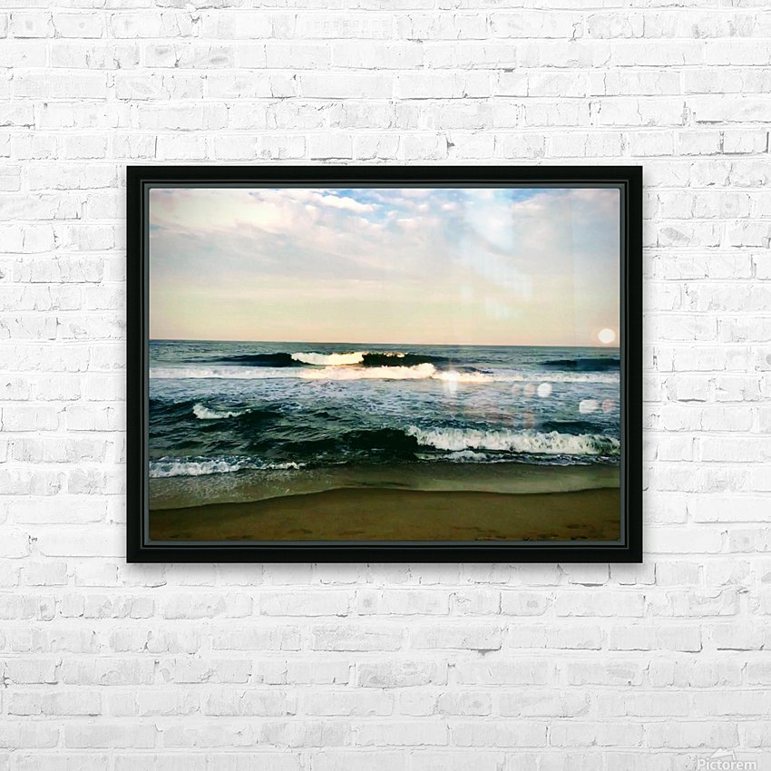 July Surf HD Sublimation Metal print with Decorating Float Frame (BOX)