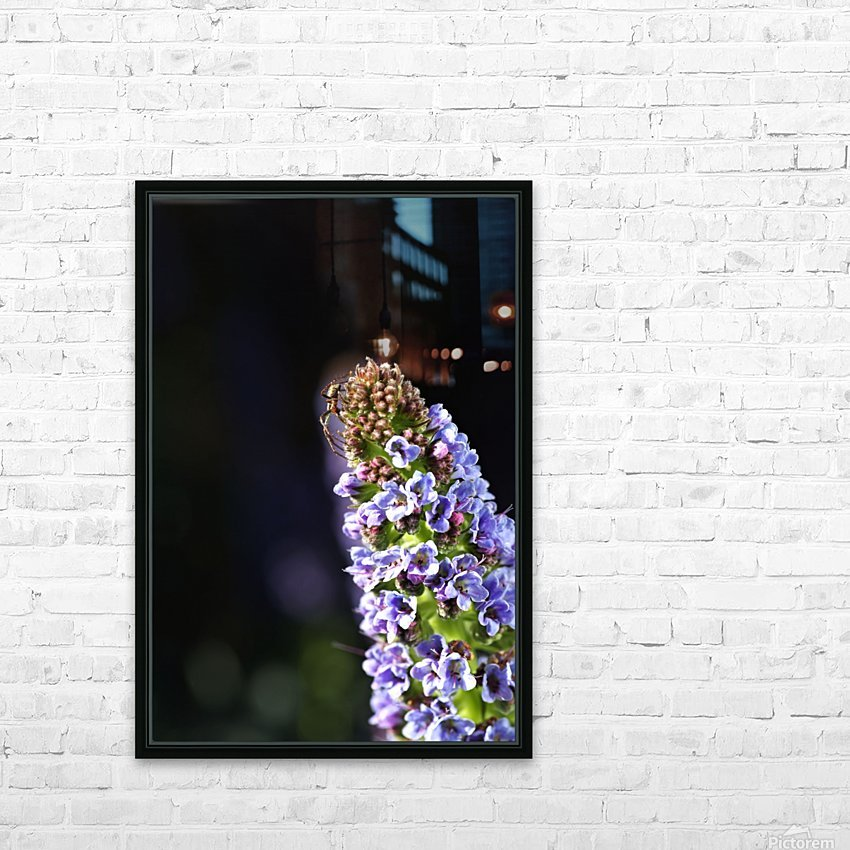 Veronica Flower Delight HD Sublimation Metal print with Decorating Float Frame (BOX)