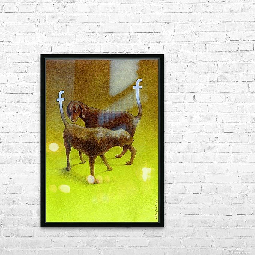PawelKuczynski54 HD Sublimation Metal print with Decorating Float Frame (BOX)