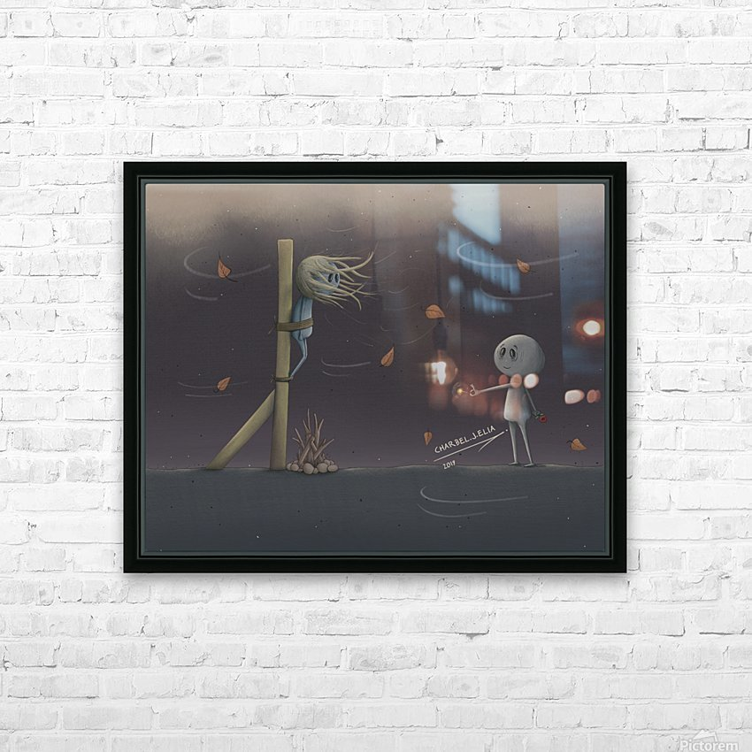 Charbel Elia HD Sublimation Metal print with Decorating Float Frame (BOX)