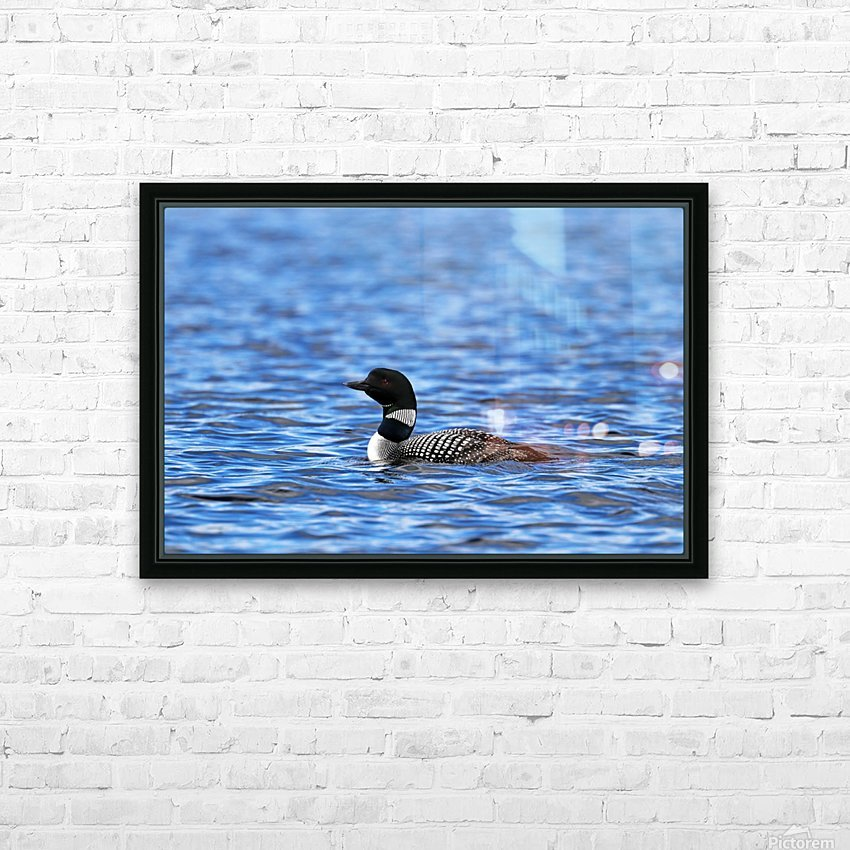 Spirit Of Northern Lakes HD Sublimation Metal print with Decorating Float Frame (BOX)