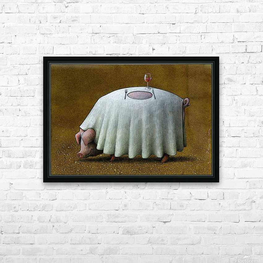 PawelKuczynski60 HD Sublimation Metal print with Decorating Float Frame (BOX)