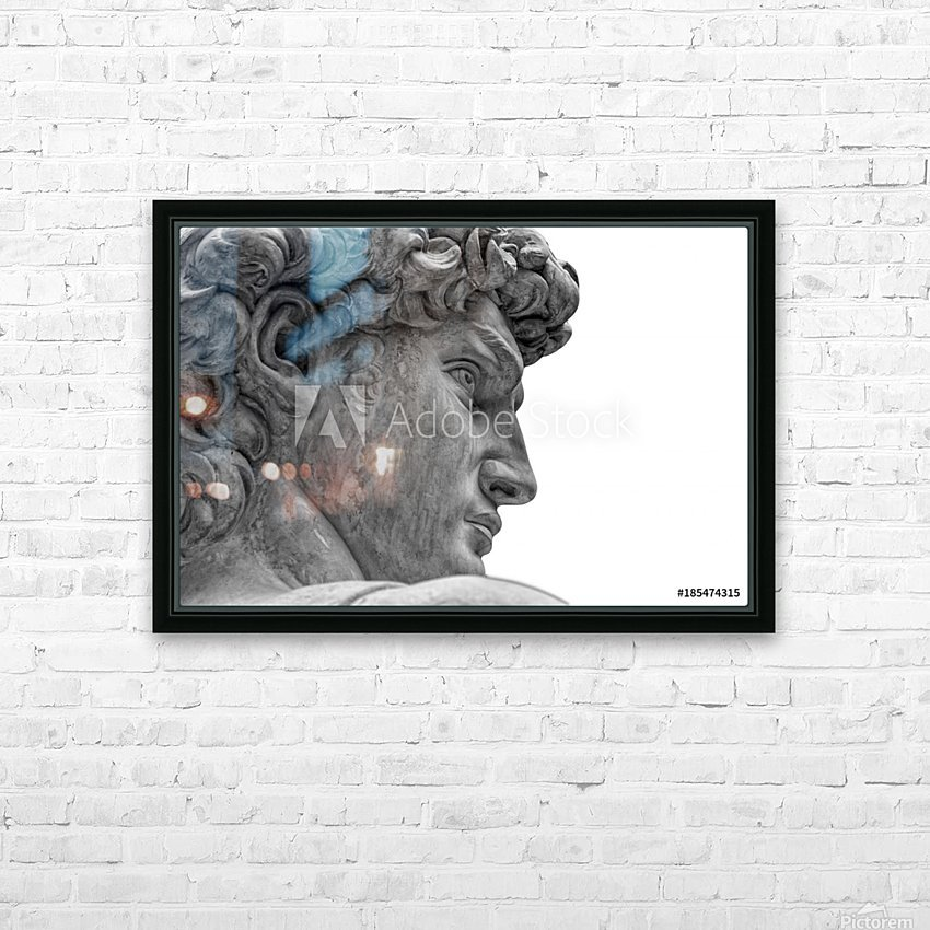 Classical ART HD Sublimation Metal print with Decorating Float Frame (BOX)