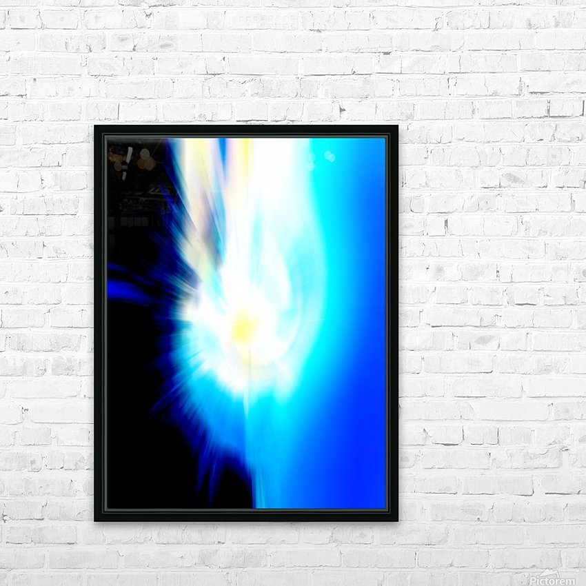 Filtered Sun HD Sublimation Metal print with Decorating Float Frame (BOX)