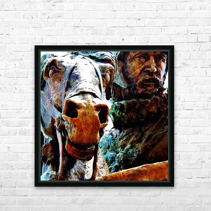 Face to Face HD Sublimation Metal print with Decorating Float Frame (BOX)