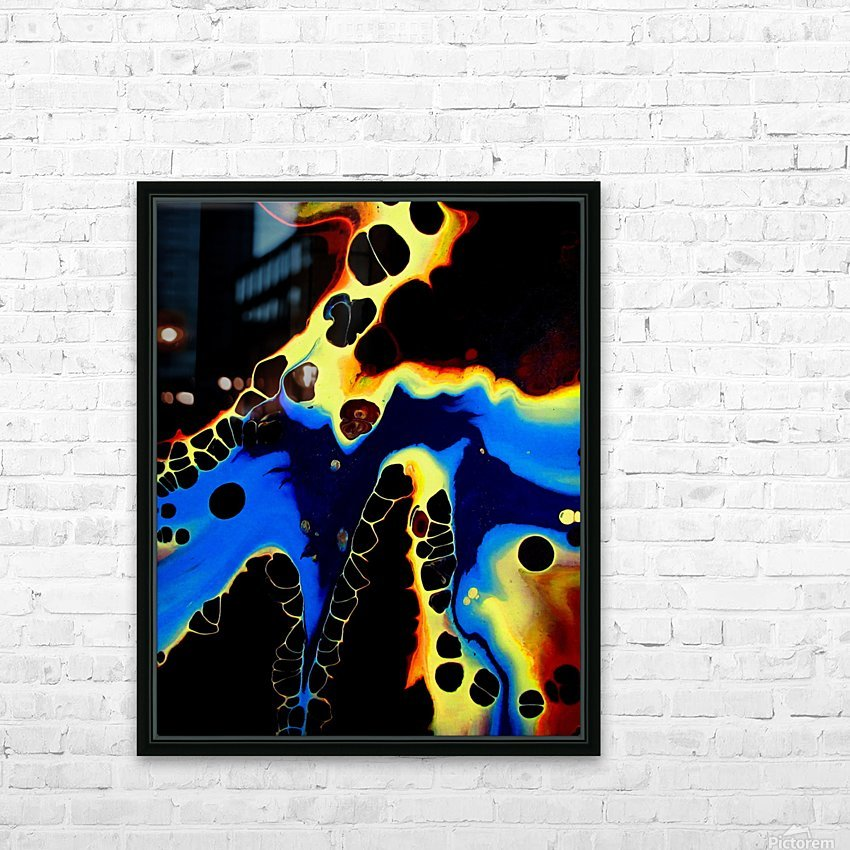 Moonshadow HD Sublimation Metal print with Decorating Float Frame (BOX)