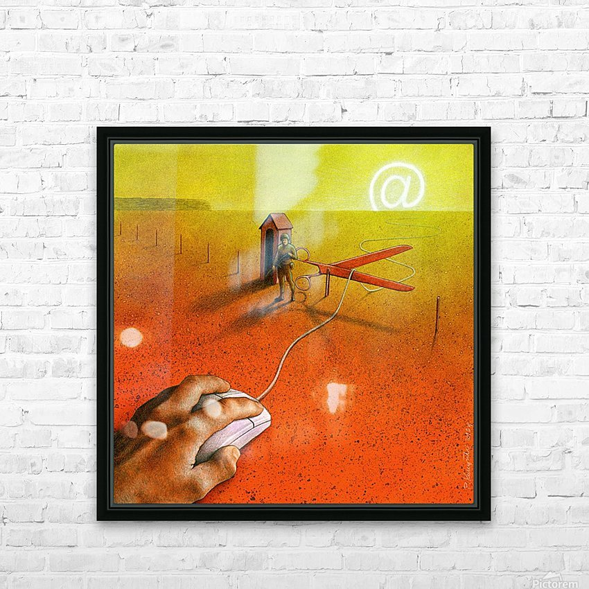 PawelKuczynski63 HD Sublimation Metal print with Decorating Float Frame (BOX)