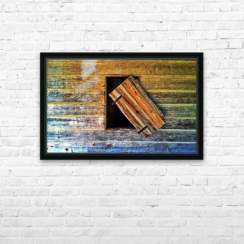 Hanging on HD Sublimation Metal print with Decorating Float Frame (BOX)