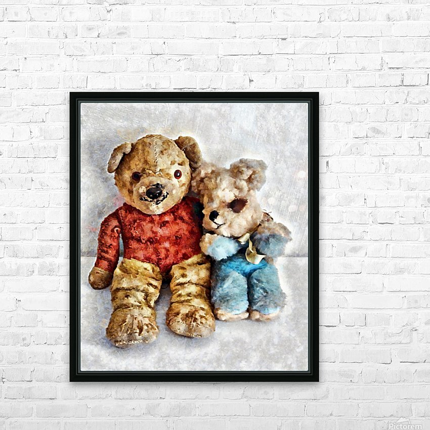 Give Me A Bear Hug HD Sublimation Metal print with Decorating Float Frame (BOX)
