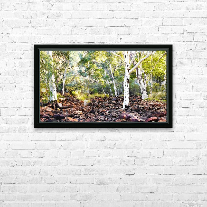 Sunrise on Kings Creek HD Sublimation Metal print with Decorating Float Frame (BOX)