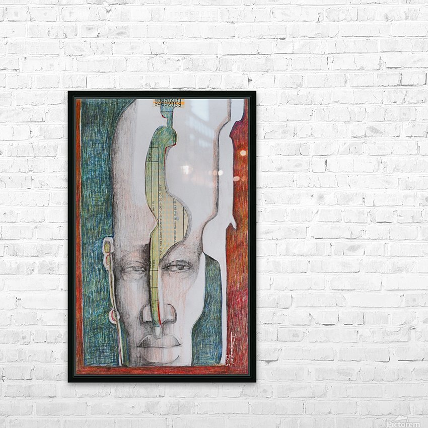le masque 2 HD Sublimation Metal print with Decorating Float Frame (BOX)