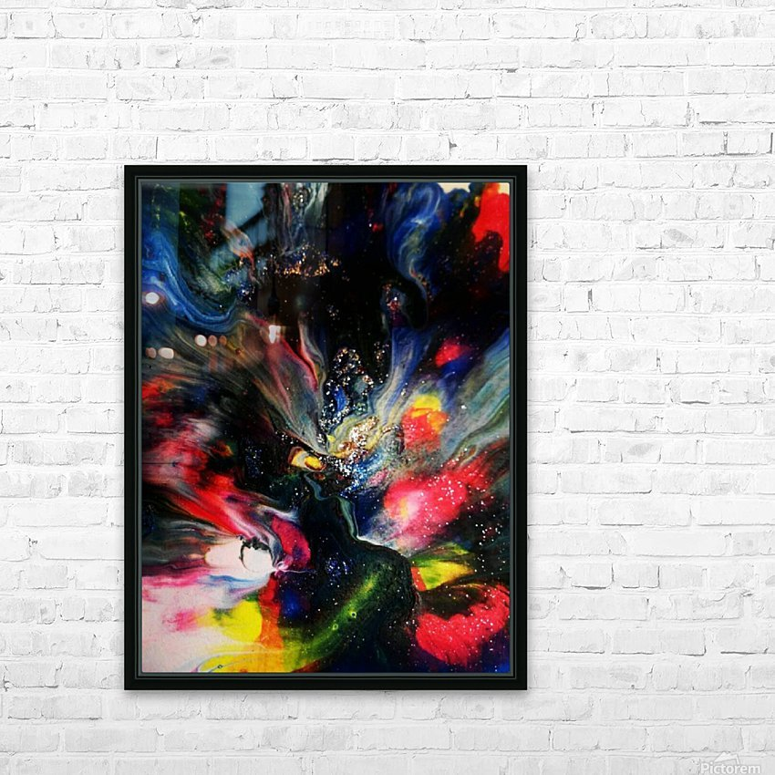 Lyra  HD Sublimation Metal print with Decorating Float Frame (BOX)