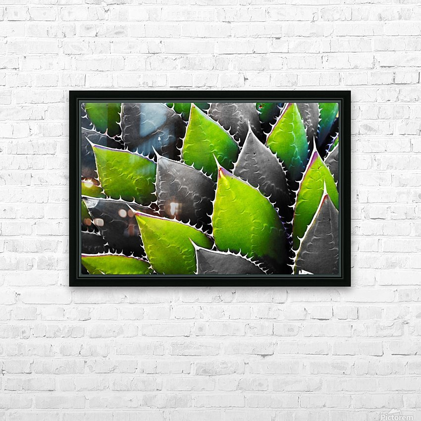 Thorny HD Sublimation Metal print with Decorating Float Frame (BOX)