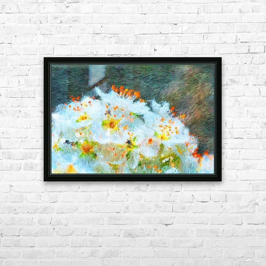 Blossom In A Storm HD Sublimation Metal print with Decorating Float Frame (BOX)