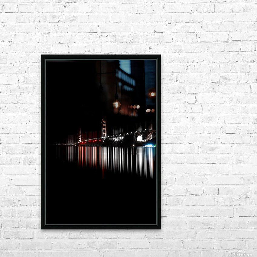 Treasures from darkness HD Sublimation Metal print with Decorating Float Frame (BOX)