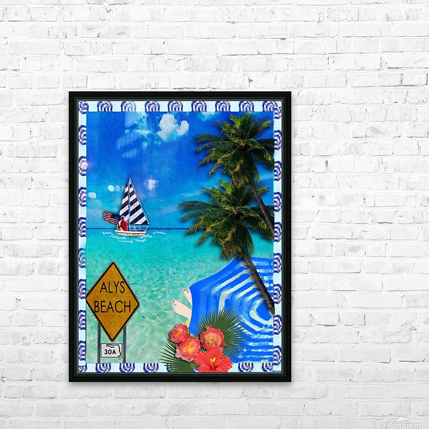 SS Wade HD Sublimation Metal print with Decorating Float Frame (BOX)