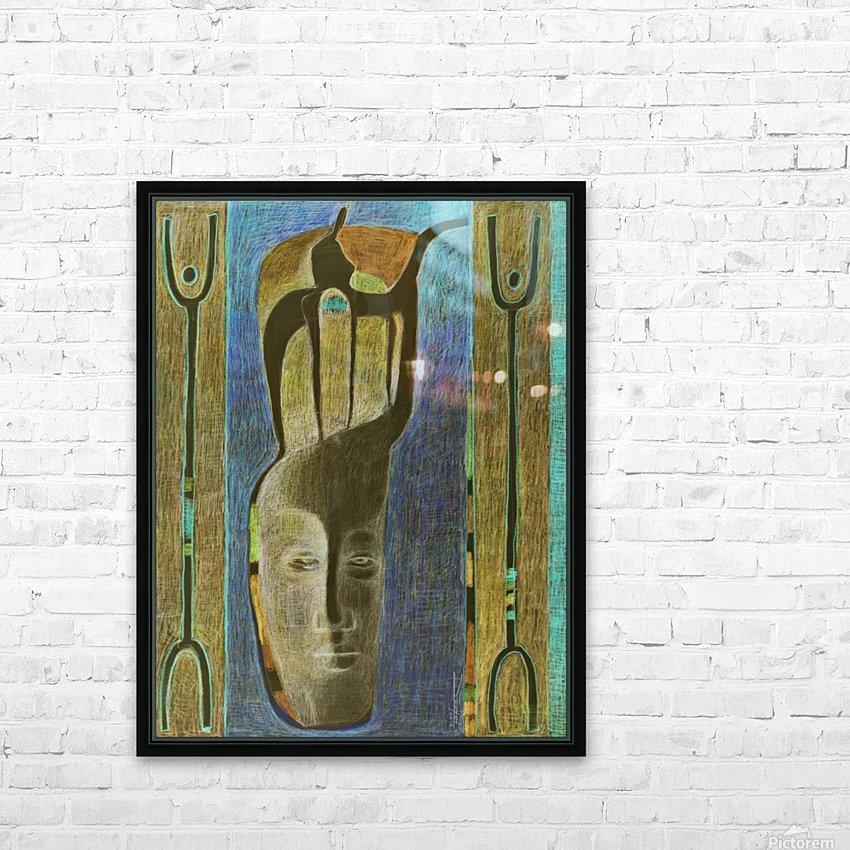 lost Kamel HD Sublimation Metal print with Decorating Float Frame (BOX)