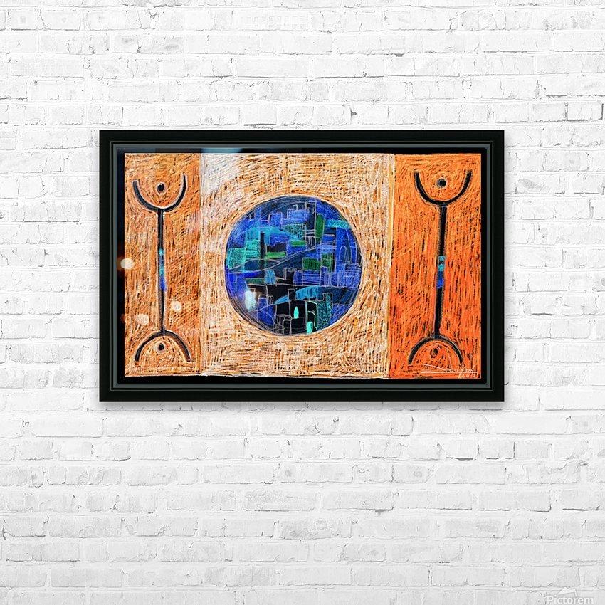 free man1 HD sublimation métal imprimé avec décoration flotteur cadre (boîte)