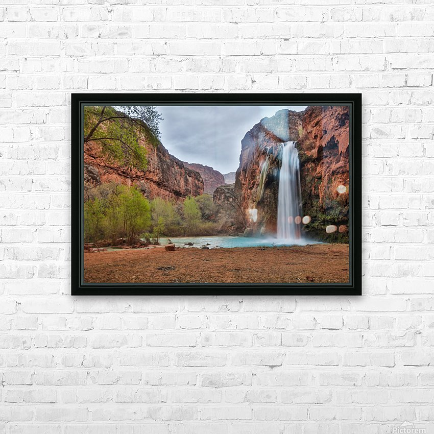 Miles Away From Ordinary HD Sublimation Metal print with Decorating Float Frame (BOX)