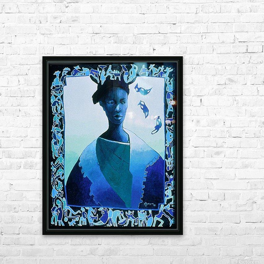 Valse des illusions HD Sublimation Metal print with Decorating Float Frame (BOX)
