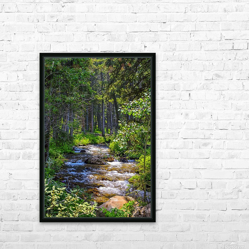 Fairy Creek HD Sublimation Metal print with Decorating Float Frame (BOX)