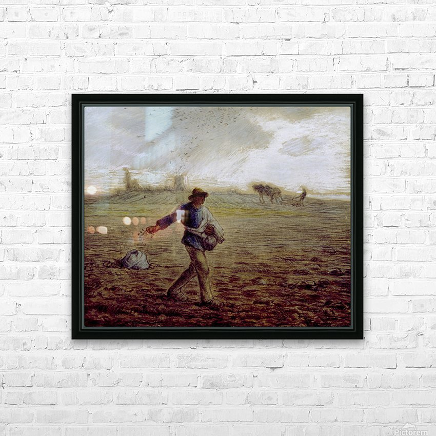The Sower - Walters HD Sublimation Metal print with Decorating Float Frame (BOX)