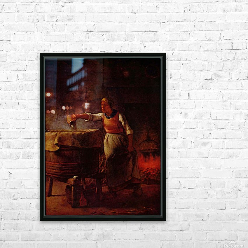 At home HD Sublimation Metal print with Decorating Float Frame (BOX)