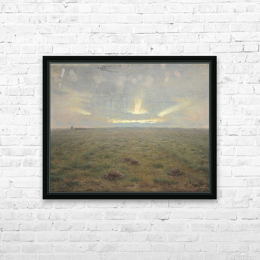 Horizon HD Sublimation Metal print with Decorating Float Frame (BOX)
