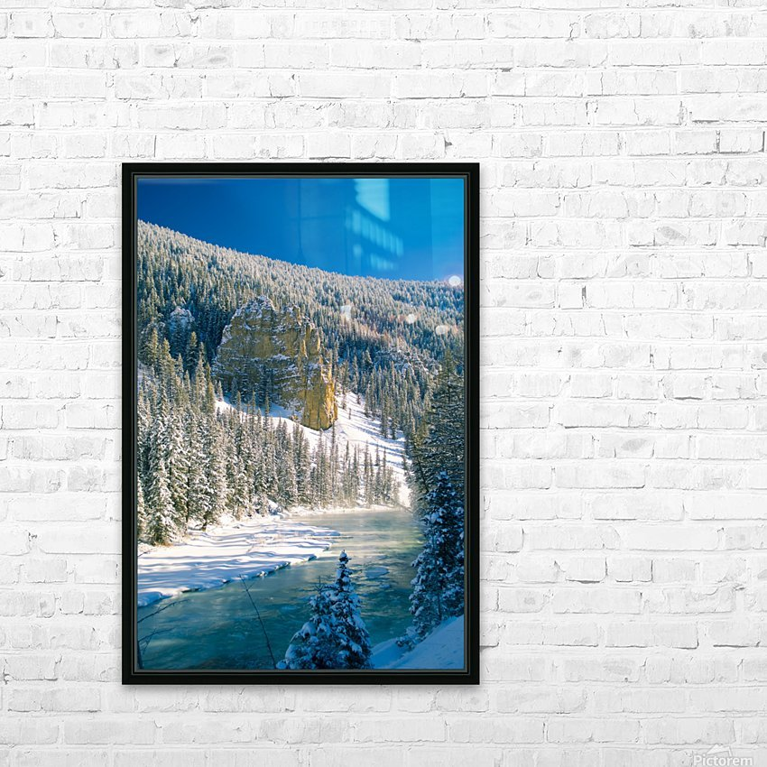 23 Below HD Sublimation Metal print with Decorating Float Frame (BOX)