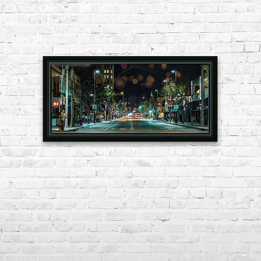 Santa Monica HD Sublimation Metal print with Decorating Float Frame (BOX)
