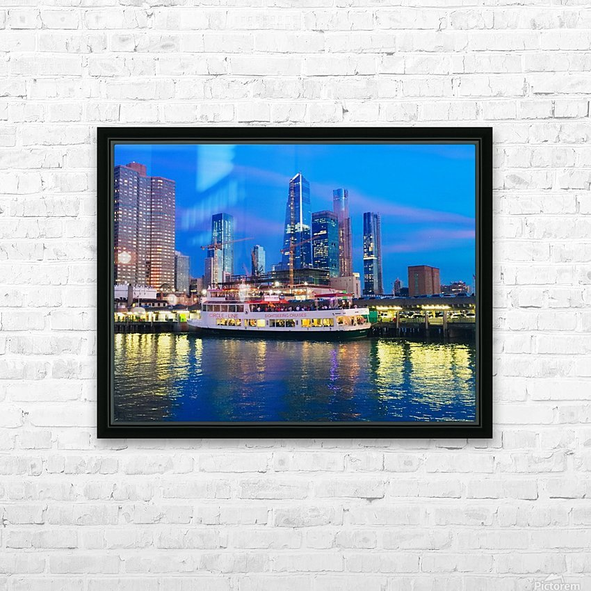 Bluesky HD Sublimation Metal print with Decorating Float Frame (BOX)