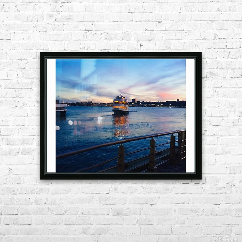 Sky & Sea HD Sublimation Metal print with Decorating Float Frame (BOX)