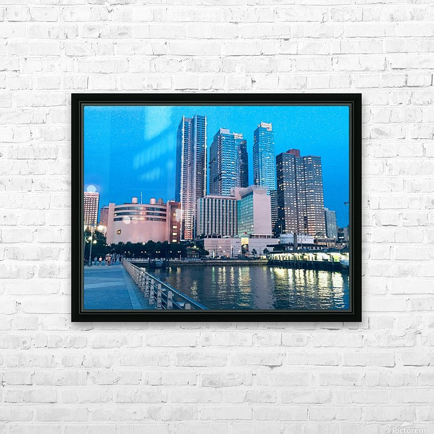 Shining Night  HD Sublimation Metal print with Decorating Float Frame (BOX)