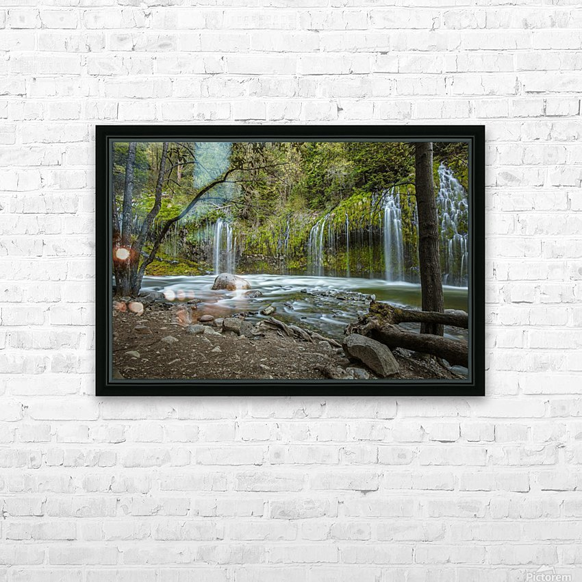 Secret Location HD Sublimation Metal print with Decorating Float Frame (BOX)
