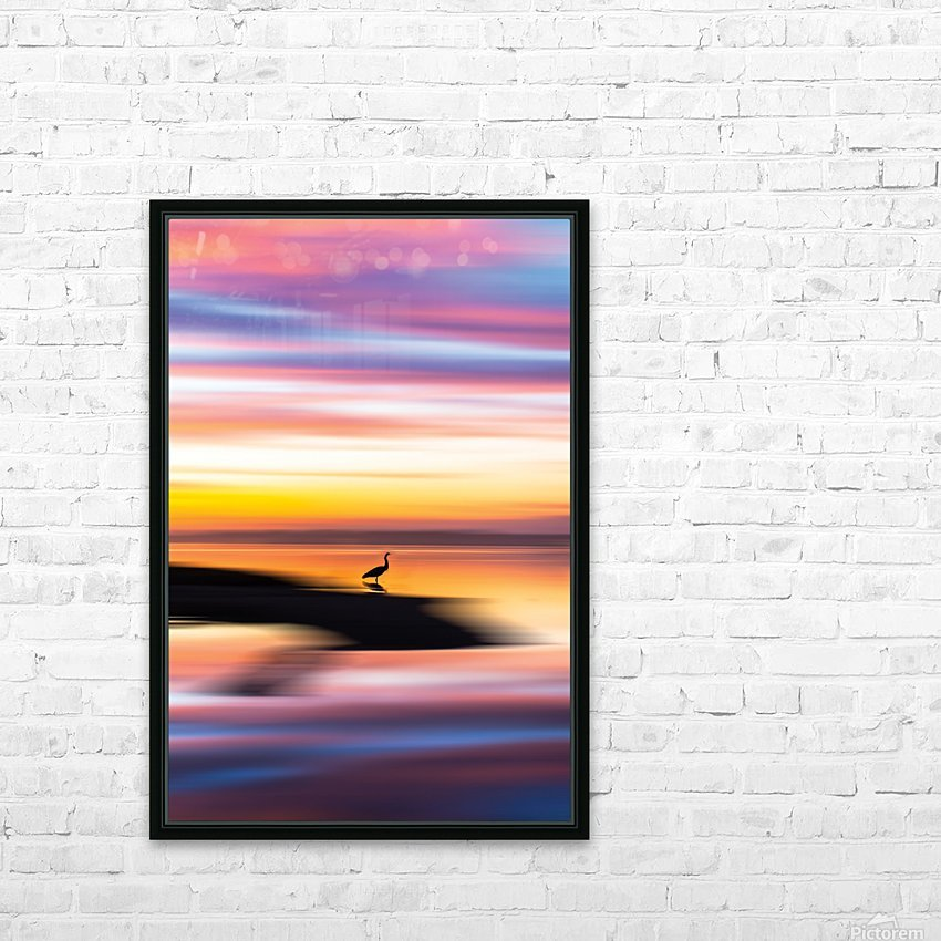 Dreamlike HD Sublimation Metal print with Decorating Float Frame (BOX)