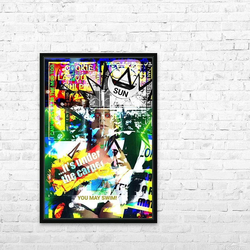 GREAT SING ALONG SONG HD Sublimation Metal print with Decorating Float Frame (BOX)