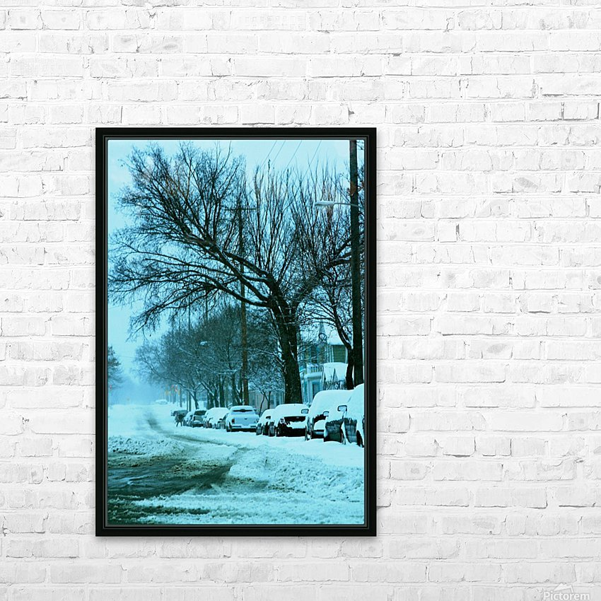 Frost HD Sublimation Metal print with Decorating Float Frame (BOX)