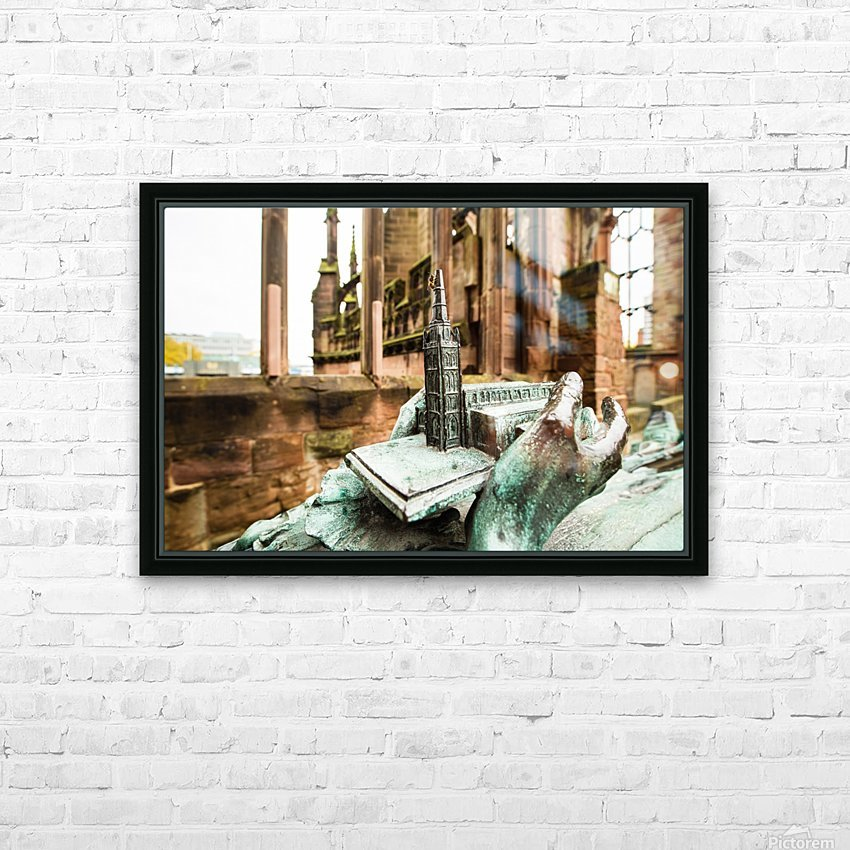 Coventry Bee HD Sublimation Metal print with Decorating Float Frame (BOX)