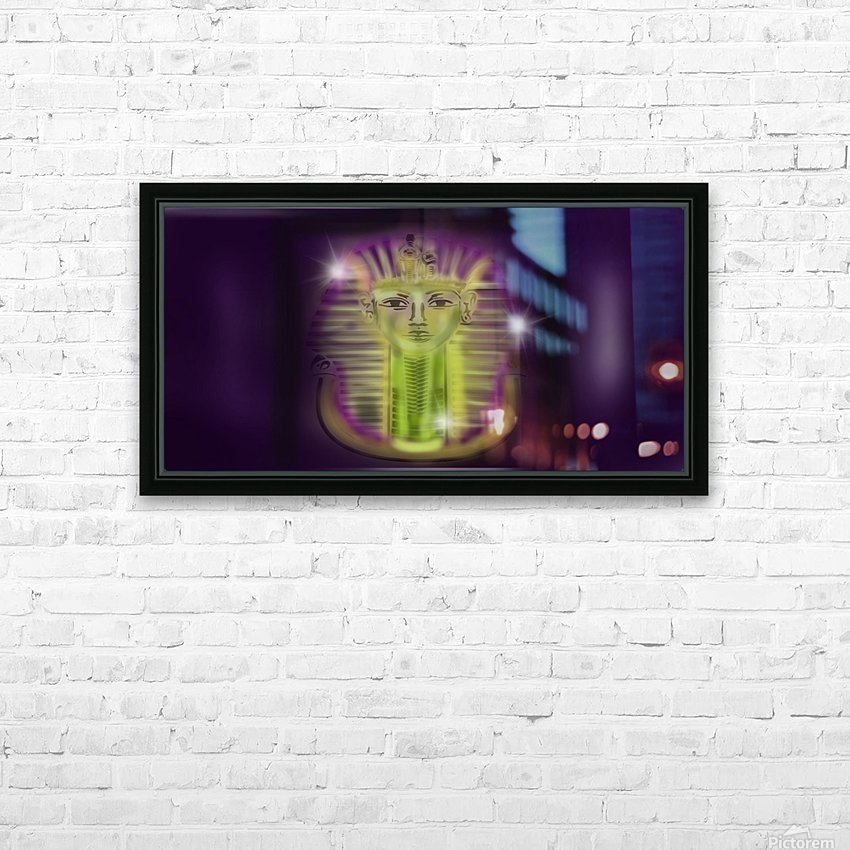 dwn27 HD Sublimation Metal print with Decorating Float Frame (BOX)
