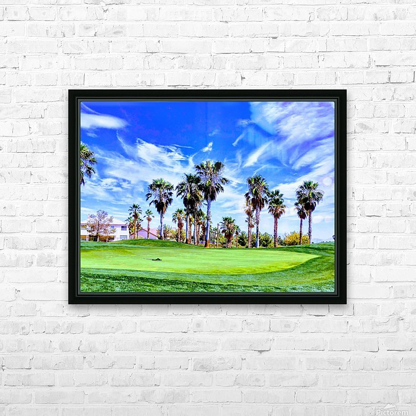 Nevada Sky  HD Sublimation Metal print with Decorating Float Frame (BOX)