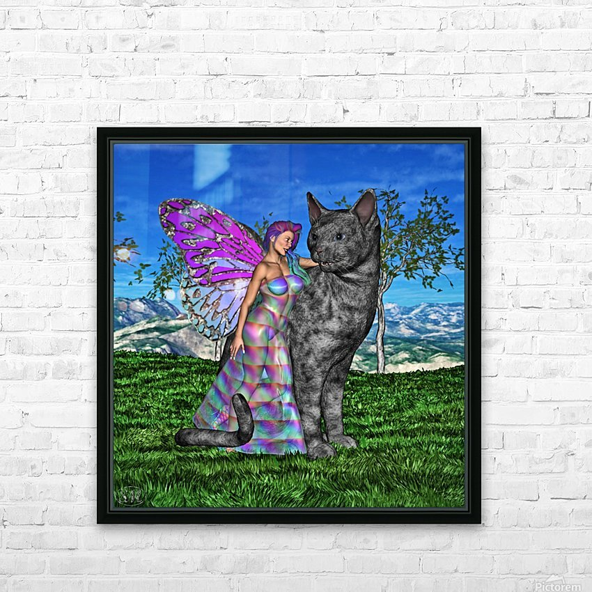 Fae Friends HD Sublimation Metal print with Decorating Float Frame (BOX)