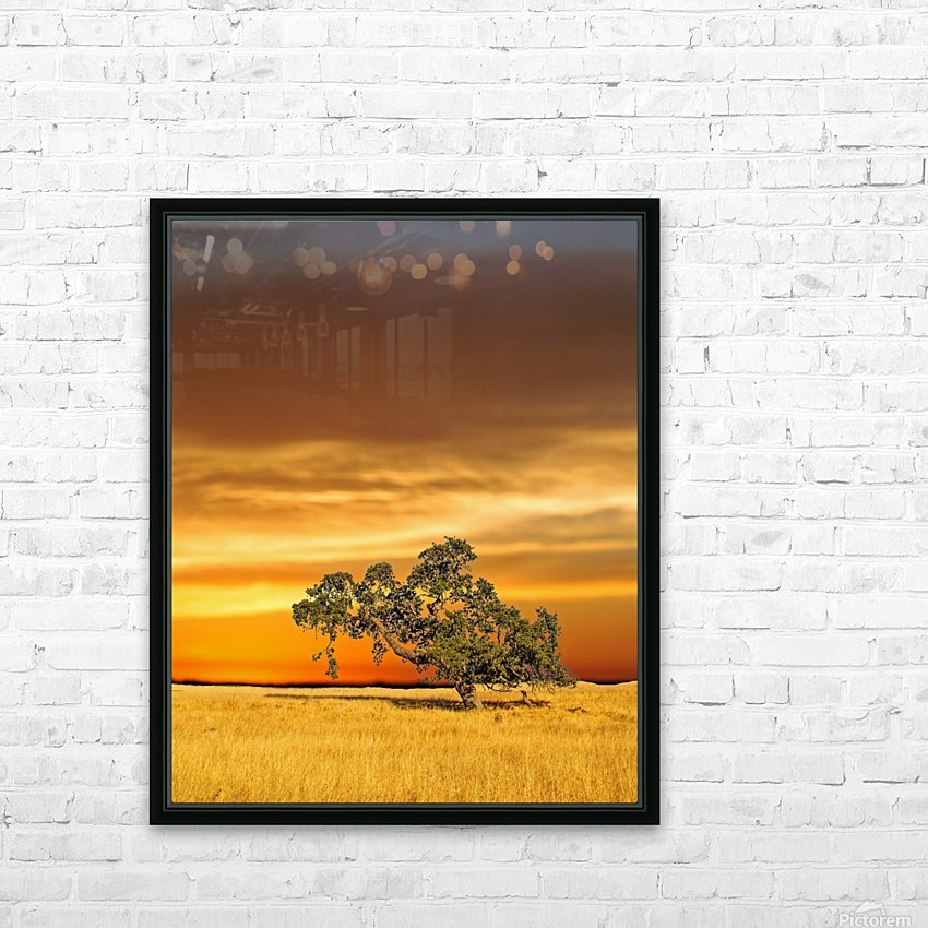 FireGold HD Sublimation Metal print with Decorating Float Frame (BOX)