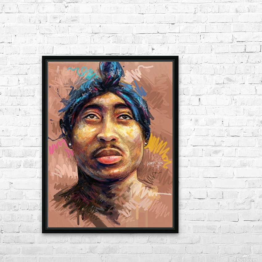 2pac HD Sublimation Metal print with Decorating Float Frame (BOX)