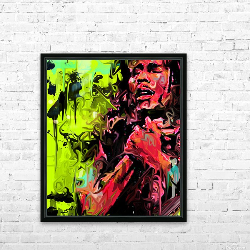 Bmarley3 HD Sublimation Metal print with Decorating Float Frame (BOX)