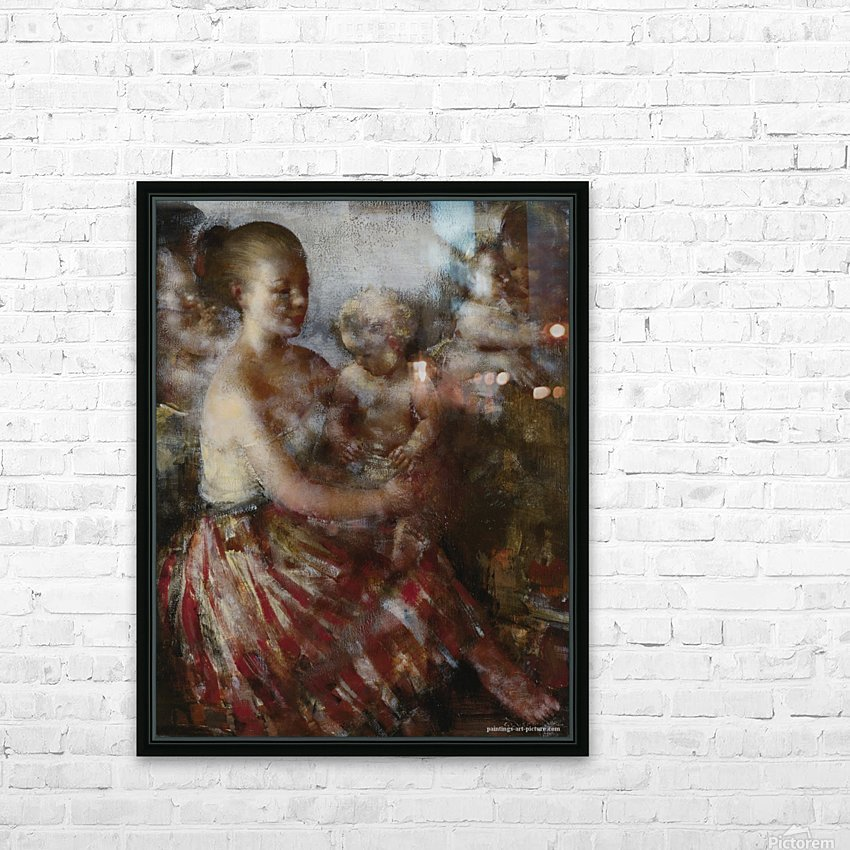 Nursery Tune HD Sublimation Metal print with Decorating Float Frame (BOX)