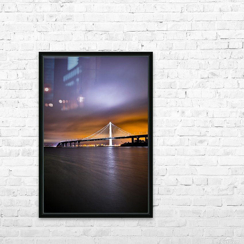 New Hope HD Sublimation Metal print with Decorating Float Frame (BOX)