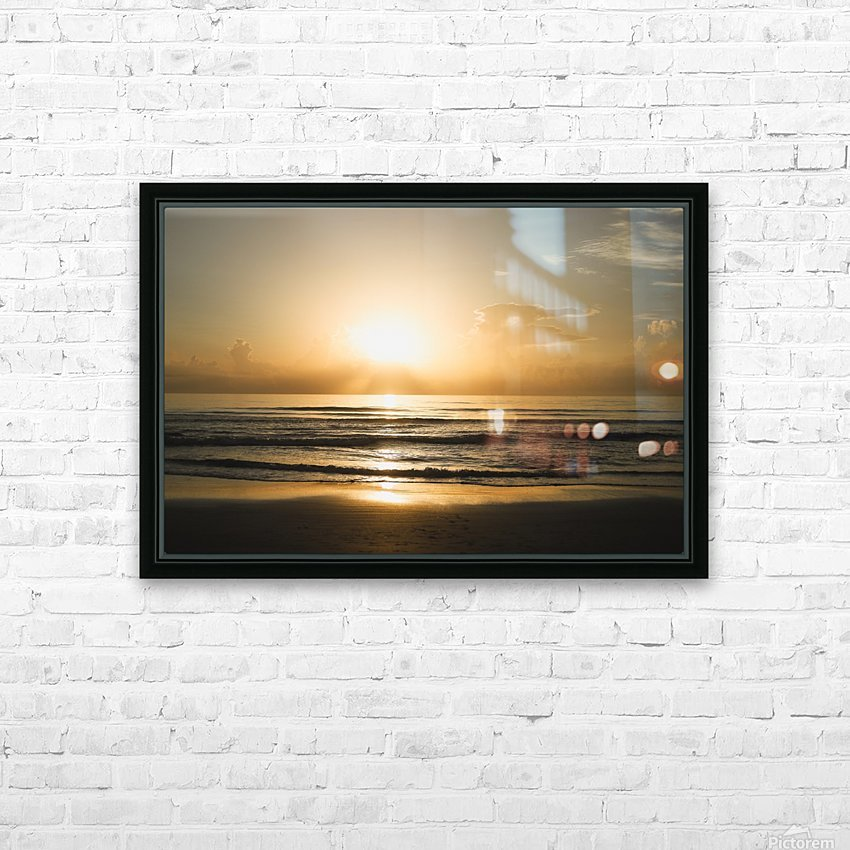 Golden Soul HD Sublimation Metal print with Decorating Float Frame (BOX)