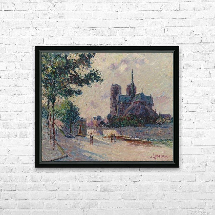 Notre-Dame de Paris HD Sublimation Metal print with Decorating Float Frame (BOX)